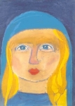 Maria geheiligt, gebenedeit, sehr jung - Bitte Klicken Sie auf das Bild für eine größere Ansicht